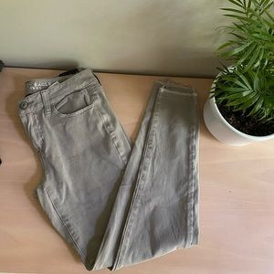 American Eagle 360 Super Stretch Gray Jeggings